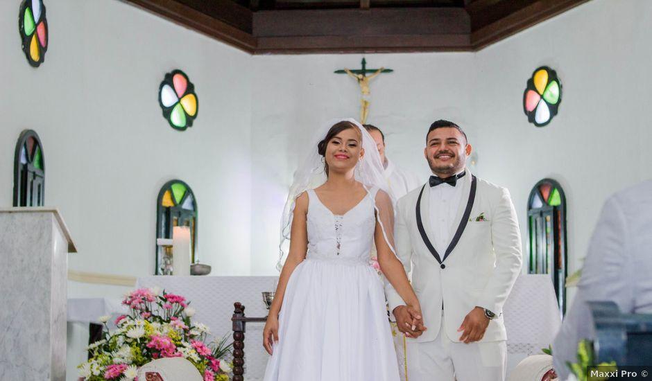 El matrimonio de Francisco y Victoria en Cartagena, Bolívar