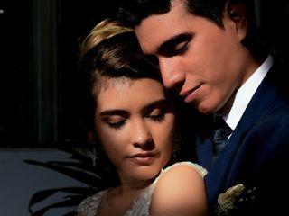 El matrimonio de Andrea y Beimar