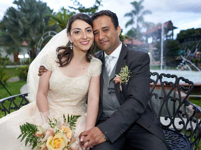 El matrimonio de Sandra y Camilo