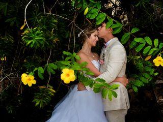 El matrimonio de Any y Hernán