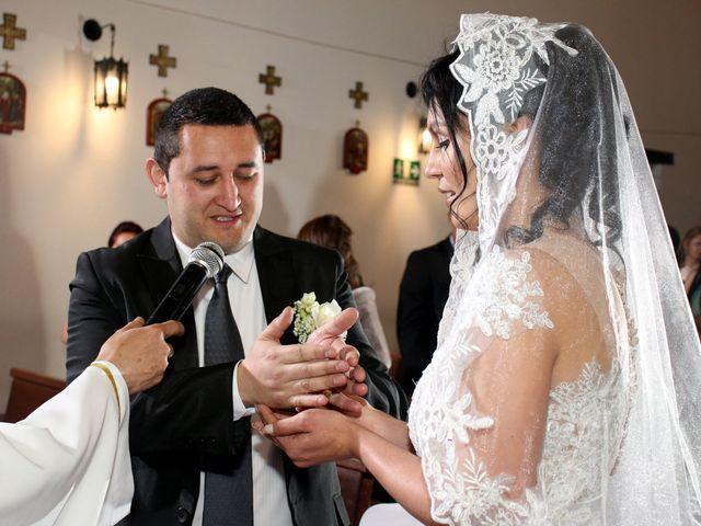 El matrimonio de Omar y Yurani en Bogotá, Bogotá DC 9