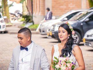 El matrimonio de Erika  y Juan Felipe  3
