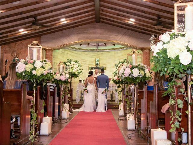 El matrimonio de Erika  y Juan Felipe