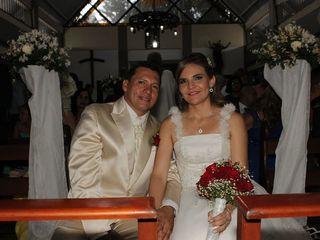 El matrimonio de Diana y Víctor