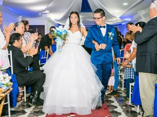 El matrimonio de Juan David y Eliana