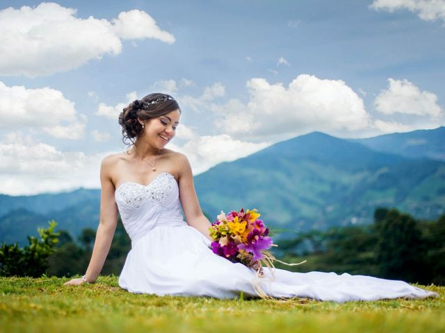 El matrimonio de Esteban y Estrella en La Estrella, Antioquia 1