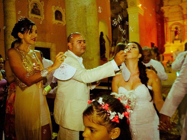 El matrimonio de Carlos y Catalina en Cartagena, Bolívar 1