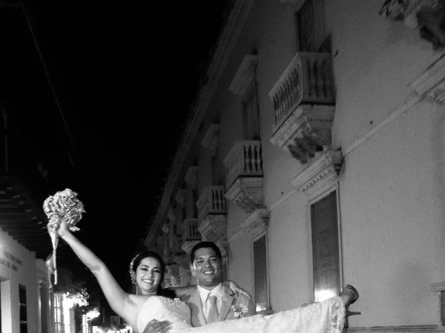 El matrimonio de Carlos y Catalina en Cartagena, Bolívar 4