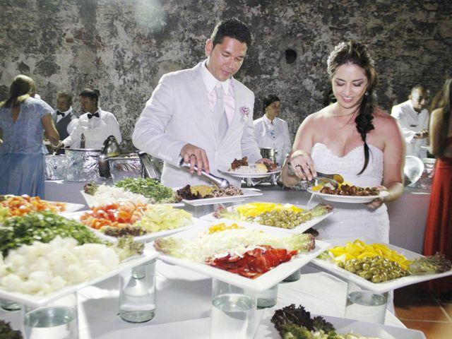 El matrimonio de Carlos y Catalina en Cartagena, Bolívar 23