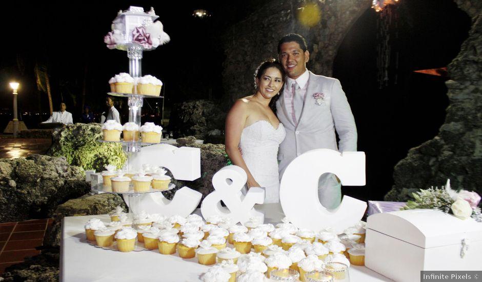 El matrimonio de Carlos y Catalina en Cartagena, Bolívar