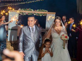 El matrimonio de Edwar y Paula