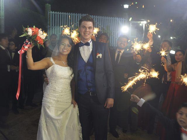 El matrimonio de Erika y Stephen