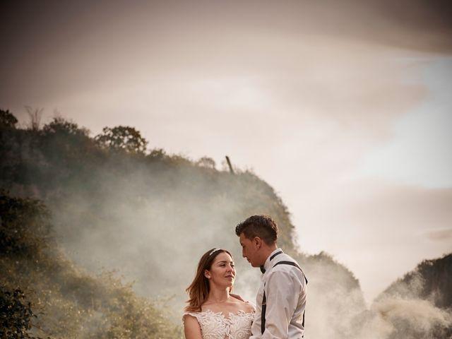 El matrimonio de Oscar y Yura