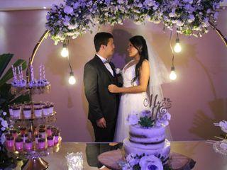 El matrimonio de Jasmín y Luis Fernando