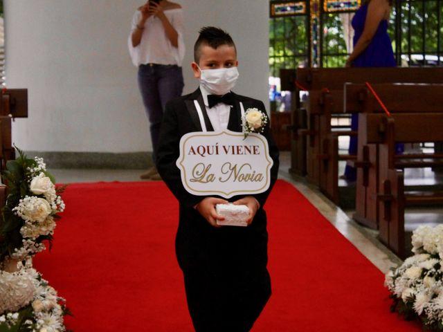 El matrimonio de Luis Fernando y Jasmín en Cali, Valle del Cauca 6