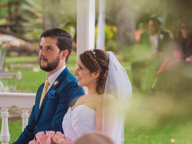 El matrimonio de Andrea y Rodrigo
