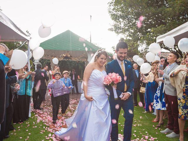El matrimonio de Rodrigo y Andrea en Chía, Cundinamarca 23