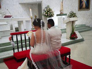 El matrimonio de Lina  y César  1
