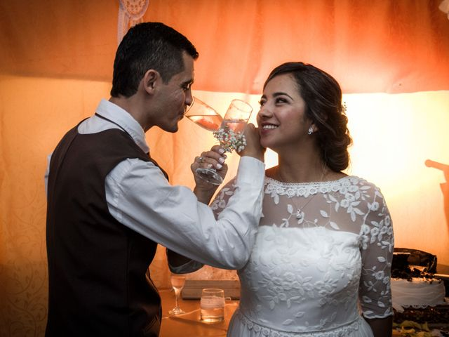 El matrimonio de Elizabeth y Jairo