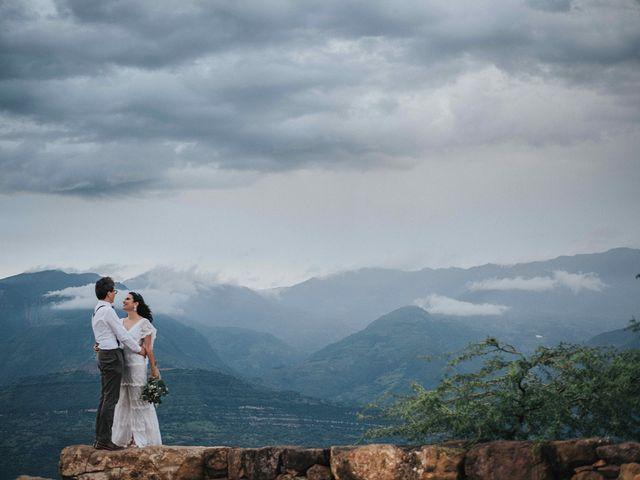 El matrimonio de Carlos y Natalia en Barichara, Santander 6