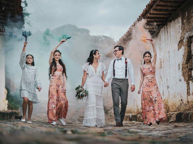El matrimonio de Carlos y Natalia en Barichara, Santander 1