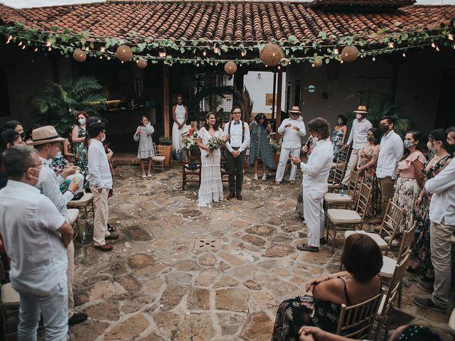 El matrimonio de Carlos y Natalia en Barichara, Santander 8