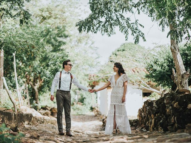 El matrimonio de Carlos y Natalia en Barichara, Santander 23