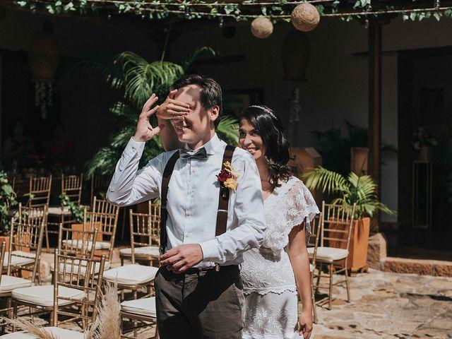 El matrimonio de Carlos y Natalia en Barichara, Santander 35