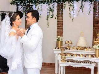 El matrimonio de Mary Lourdez y Vicente