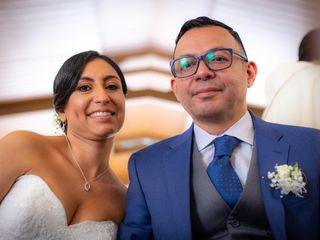 El matrimonio de Marjorie y Mauricio