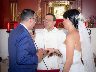 El matrimonio de Marjorie y Mauricio 3