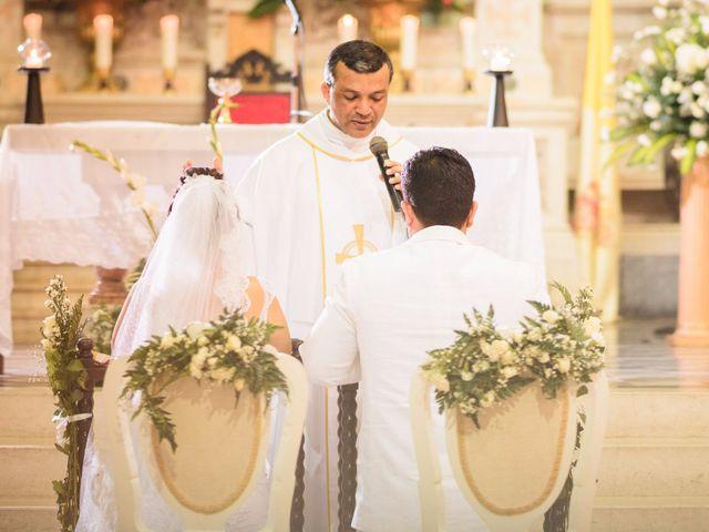 El matrimonio de Vicente y Mary Lourdez en Cartagena, Bolívar 124