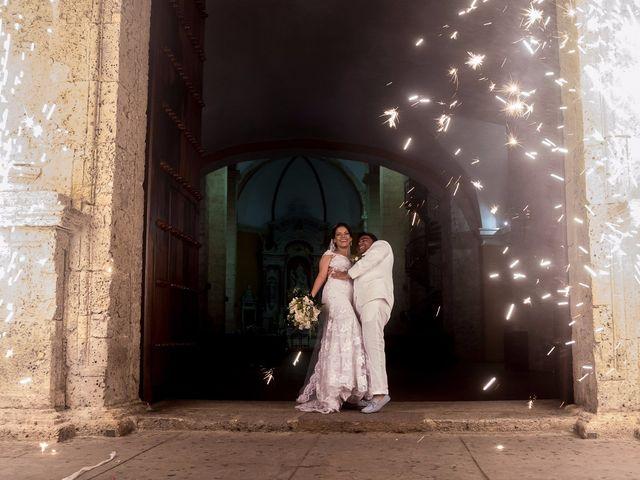 El matrimonio de Vicente y Mary Lourdez en Cartagena, Bolívar 143