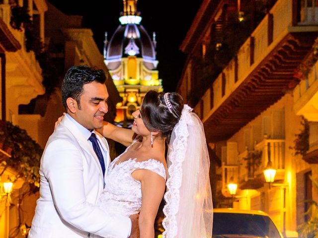 El matrimonio de Vicente y Mary Lourdez en Cartagena, Bolívar 147