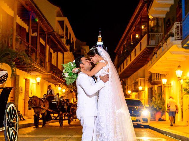 El matrimonio de Vicente y Mary Lourdez en Cartagena, Bolívar 148