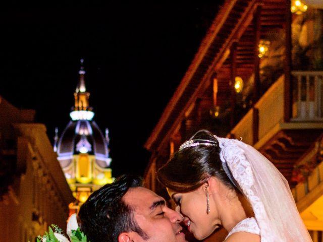 El matrimonio de Vicente y Mary Lourdez en Cartagena, Bolívar 152