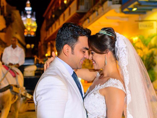 El matrimonio de Vicente y Mary Lourdez en Cartagena, Bolívar 155