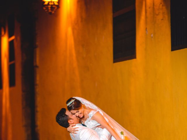 El matrimonio de Vicente y Mary Lourdez en Cartagena, Bolívar 205