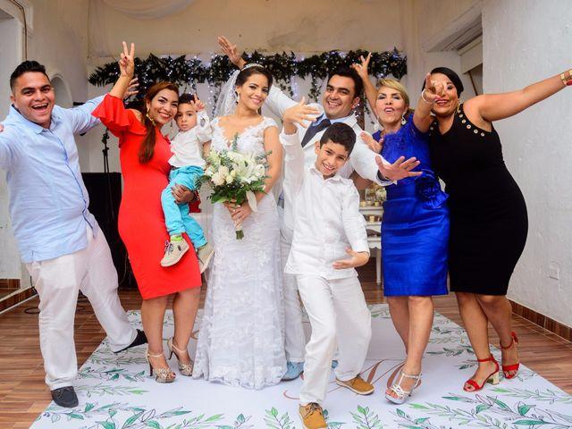 El matrimonio de Vicente y Mary Lourdez en Cartagena, Bolívar 254
