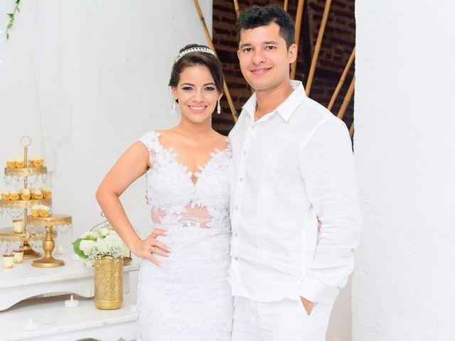 El matrimonio de Vicente y Mary Lourdez en Cartagena, Bolívar 267