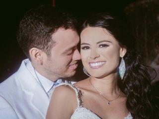 El matrimonio de Alexandra y Adal