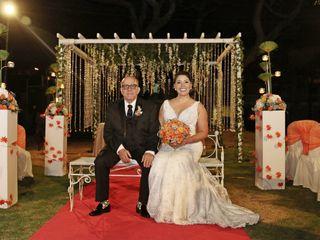 El matrimonio de Esmeralda  y Leo