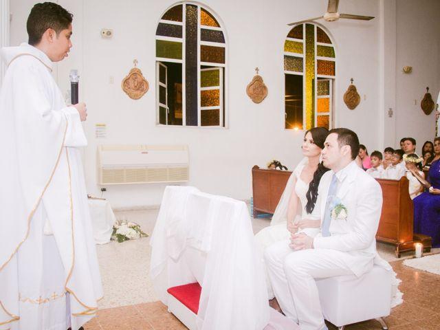 El matrimonio de Adal y Alexandra en Cartagena, Bolívar 16