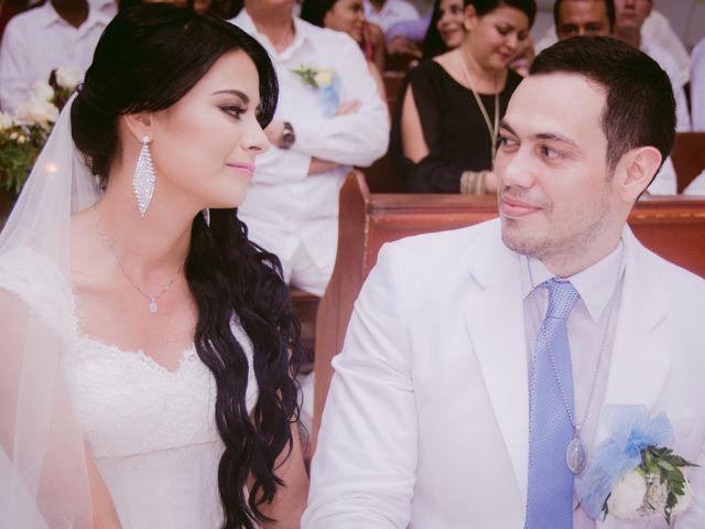 El matrimonio de Adal y Alexandra en Cartagena, Bolívar 23