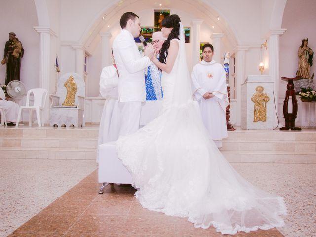 El matrimonio de Adal y Alexandra en Cartagena, Bolívar 27