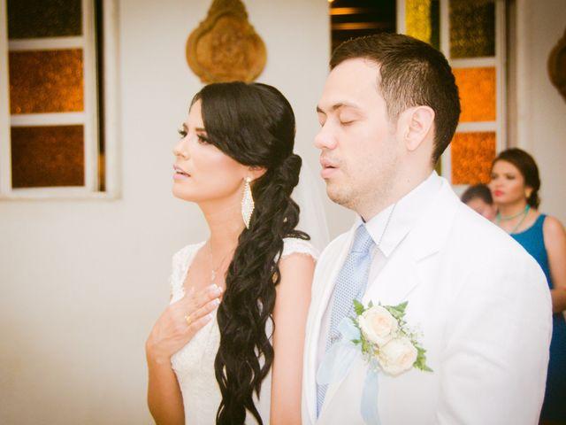 El matrimonio de Adal y Alexandra en Cartagena, Bolívar 45