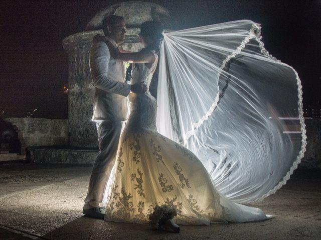 El matrimonio de Adal y Alexandra en Cartagena, Bolívar 87
