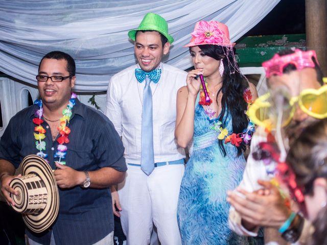 El matrimonio de Adal y Alexandra en Cartagena, Bolívar 110