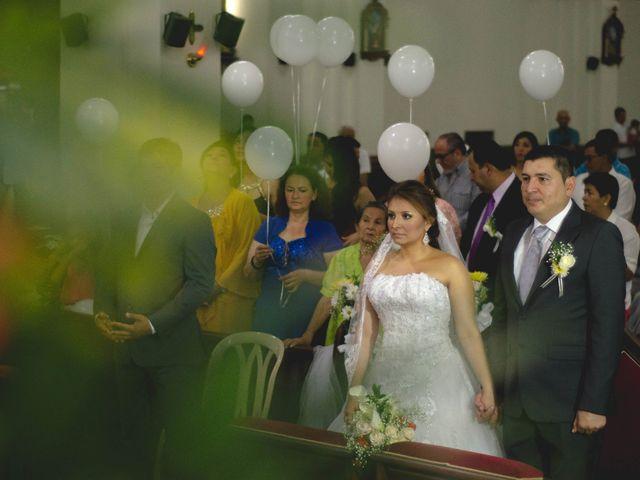 El matrimonio de Claudia y Nestor