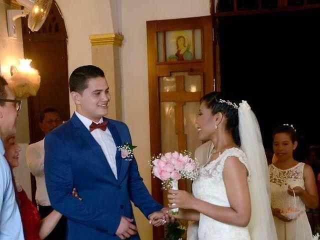 El matrimonio de Daniel y Edelsy en Santa Lucía, Atlántico 20